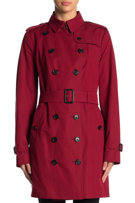 Item - Red Sandringham Double Breasted Coat Size 14 (L)