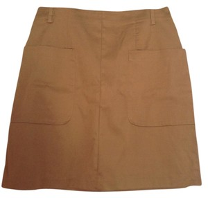 H&M Chic Summer Mini Skirt Brown