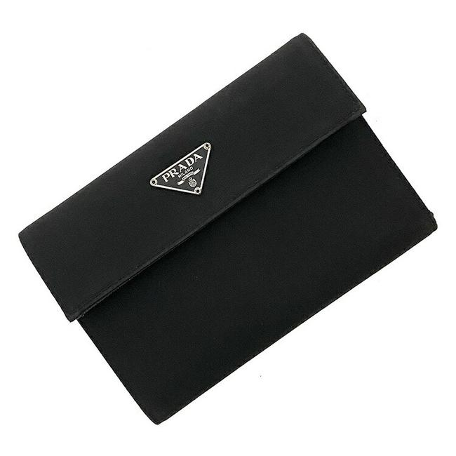 Item - Black Tri-fold Pocono Nylon Women's Men's Unisex Wallet