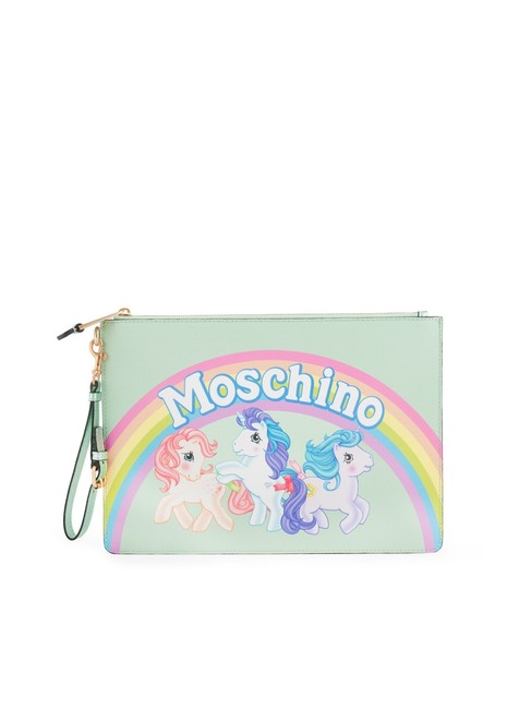 Item - My Little Pony Envelop Green Leather Clutch