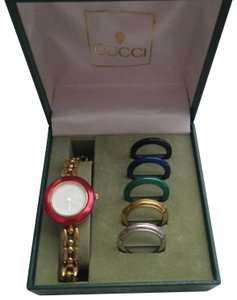 Gucci Authentic Vintage Gucci Interchangeable Bezel Bracelet