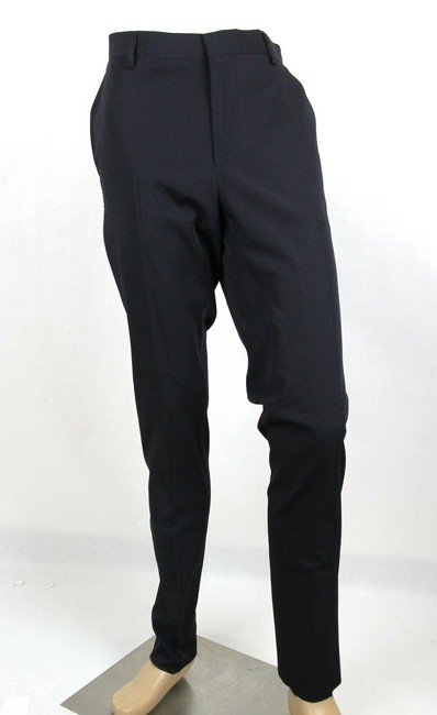 Item - Navy Men's Wool Dress Pants It 52/Us 36 308276 4014 Groomsman Gift