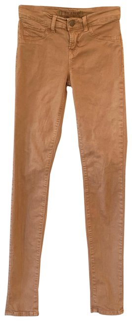 Item - Ginger Brown Light Wash Skinny Jeans Size 00 (XXS, 24)