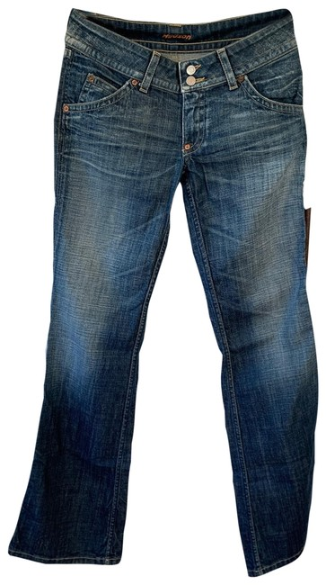 Item - Med Rinse Distressed Cut#m10849 Boot Cut Jeans Size 8 (M, 29, 30)