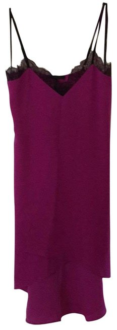 Item - Magenta #slipdress #partycocktail Mid-length Night Out Dress Size 0 (XS)