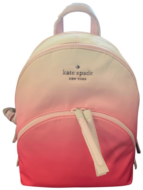 Item - Medium Pink and White Backpack