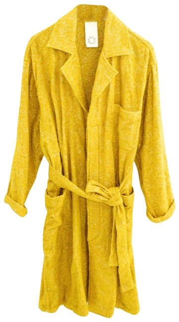 Yellow Over #143-118 Coat Size 6 (S) Yellow Over #143-118 Coat Size 6 (S) Image 1