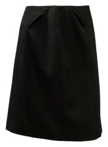 Thierry Mugler Wool Skirt Black