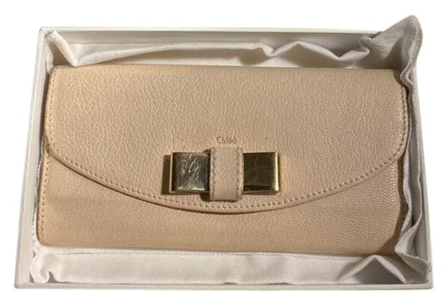 Item - Cement Pink Lily Continental Wallet