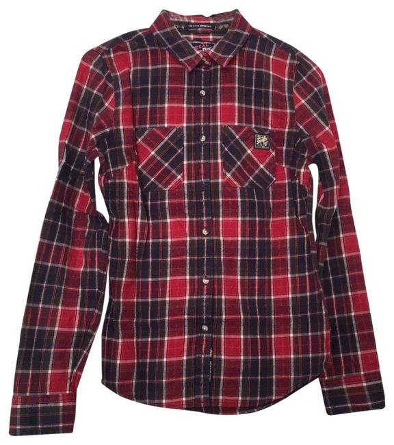 Item - Classic Button-down Top Size 4 (S)