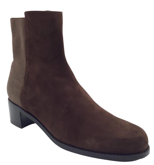Item - Brown Suede Ankle Boots/Booties Size US 10.5 Regular (M, B)