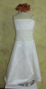 Watters Ivory 44262 Modern Bridesmaid/Mob Dress Size 6 (S)