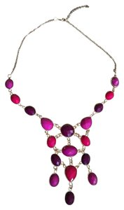 Forever 21 Purple/Pink Statement Necklace