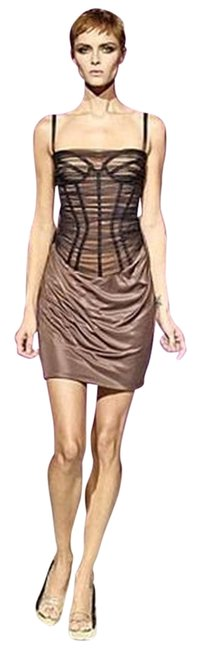 Preload https://item3.tradesy.com/images/versace-brown-new-black-corset-bustier-silk-tulle-spring-2007-rtw-44-m-above-knee-night-out-dress-si-2810272-0-0.jpg?width=400&height=650
