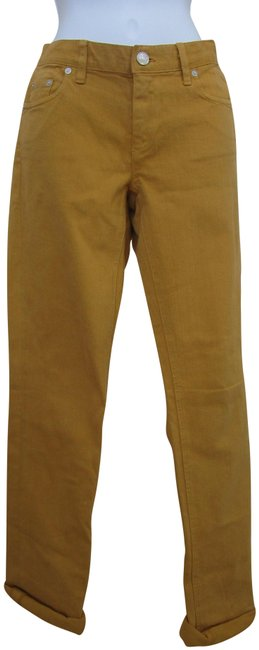 Item - Honey Yellow Medium Wash Funky and Chic Skinny Jeans Size 29 (6, M)