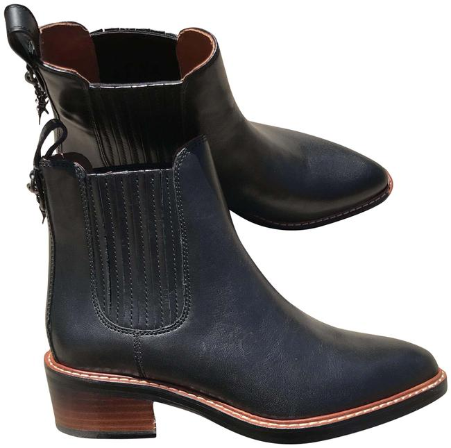 Coach Black Chelsea Bowley Boots/Booties Size US 5.5 Regular (M, B) Coach Black Chelsea Bowley Boots/Booties Size US 5.5 Regular (M, B) Image 1