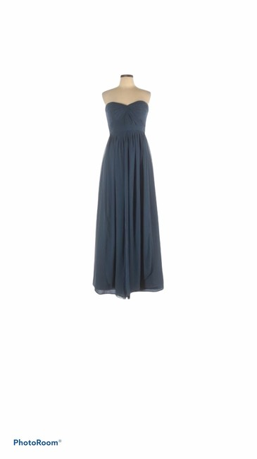 Item - Blue Grey Convertible Long Formal Dress Size 10 (M)