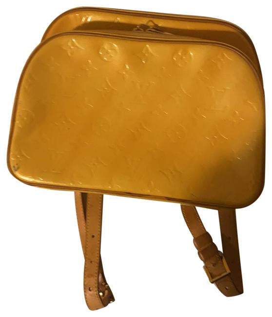 Item - Murray Mini Yellow Leather Backpack