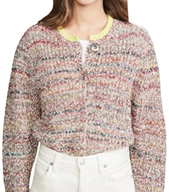 Item - Multicolor Walk On By Marled Cardigan Size 8 (M)
