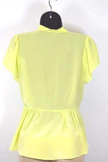 VERRIER Top LIME GREEN
