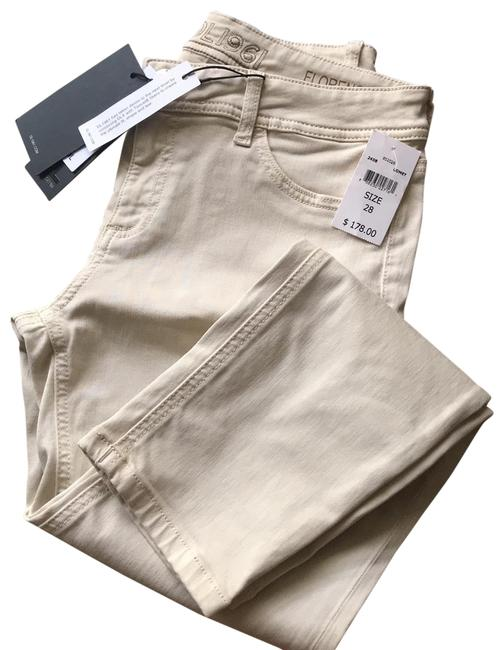 """Item - """"comet"""" Cream Florence Skinny Jeans Size 6 (S, 28)"""