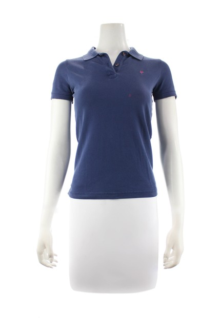 Item - Navy Blue Sleeved Polo X-small Tee Shirt Size 2 (XS)