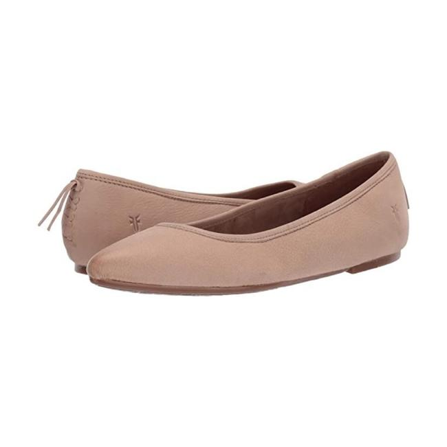 Item - Taupe Regina Nubuck Leather Ballet Flats Size US 6.5 Regular (M, B)