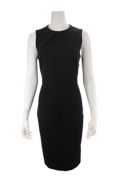 Item - Black Sleeveless Cotton New with Ta Mid-length Work/Office Dress Size 6 (S)