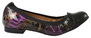 Anyi Lu Black/Purple Flats