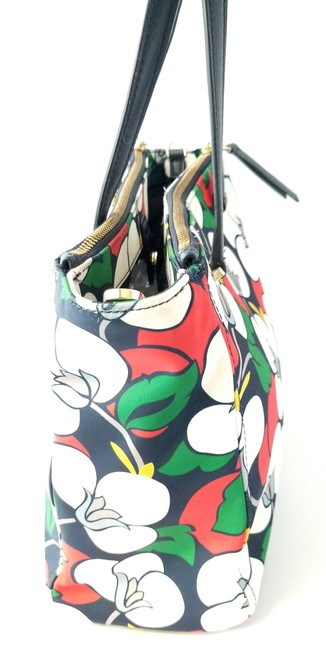 Kate Spade Floral Dawn Breezy Purse and Matching Wallet Multicolor Nylon Tote Kate Spade Floral Dawn Breezy Purse and Matching Wallet Multicolor Nylon Tote Image 6