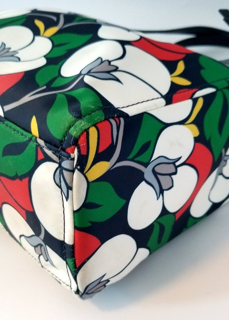 Kate Spade Floral Dawn Breezy Purse and Matching Wallet Multicolor Nylon Tote Kate Spade Floral Dawn Breezy Purse and Matching Wallet Multicolor Nylon Tote Image 9