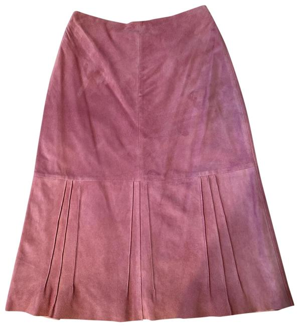 Item - Mauve Ultra Soft Suede Lined. Skirt Size 6 (S, 28)