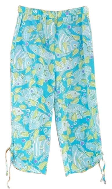 Item - Green Blue Atlantis Vintage Pants Capris Size 10 (M, 31)