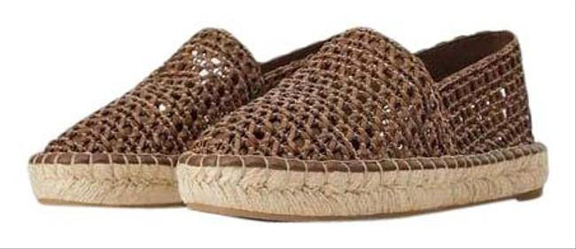 Item - Brown Braided Leather Esparto Espadrilles Color 10/42 New Flats Size US 10 Regular (M, B)