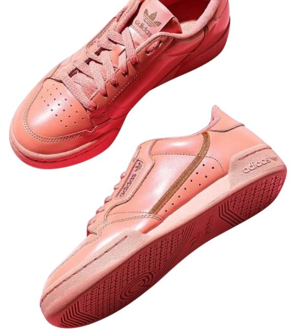 Item - Pink Continental 80 Leather Sneakers Size US 7.5 Regular (M, B)