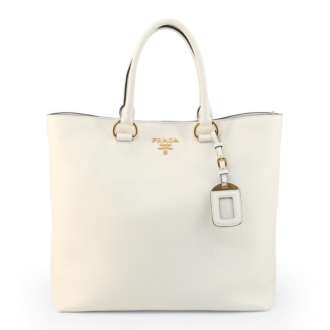 Item - Shoulder Bag Phenix Bianco Shopper White Leather Tote