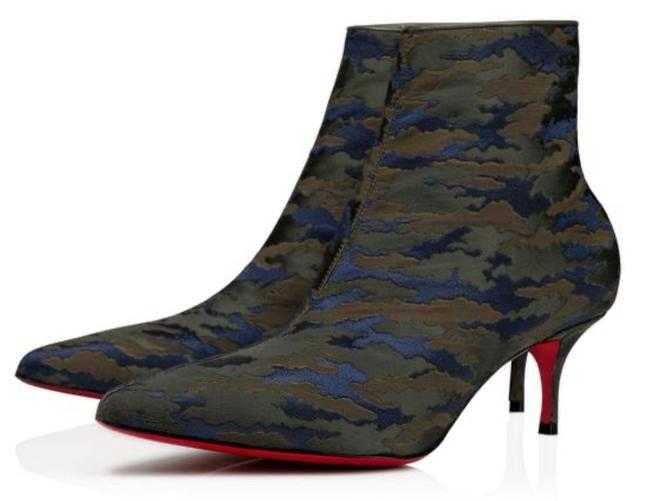 Item - Jacguard Green Camouloubi So Kate Ankle Boots/Booties Size EU 39 (Approx. US 9) Regular (M, B)