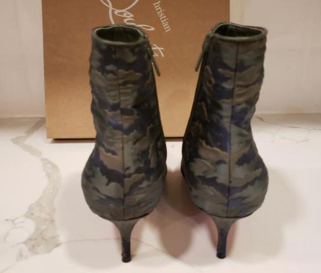 Christian Louboutin Jacguard Green Camouloubi So Kate Ankle Boots/Booties Size EU 39 (Approx. US 9) Regular (M, B) Christian Louboutin Jacguard Green Camouloubi So Kate Ankle Boots/Booties Size EU 39 (Approx. US 9) Regular (M, B) Image 3