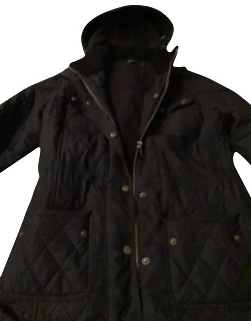 Item - Black Quilted Jacket Coat Size 4 (S)