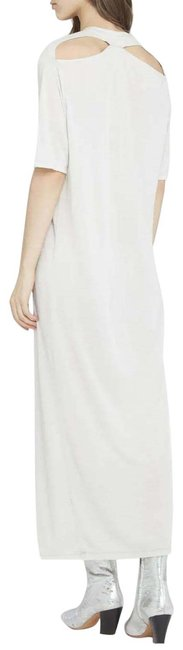 Item - Cloudy White Tanja Short-sleeve Long Casual Maxi Dress Size 6 (S)