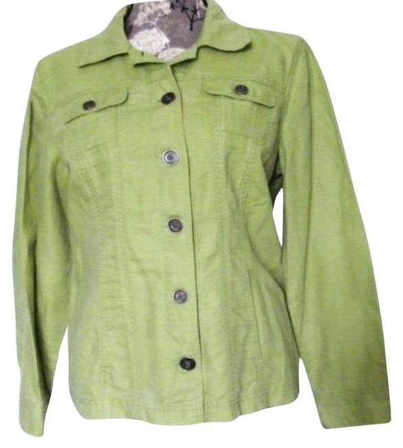 Item - Green Jacket Tunic Size 8 (M)