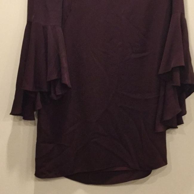 MILLY Purple Cady Bell Sleeve Short Casual Dress Size 12 (L) MILLY Purple Cady Bell Sleeve Short Casual Dress Size 12 (L) Image 5