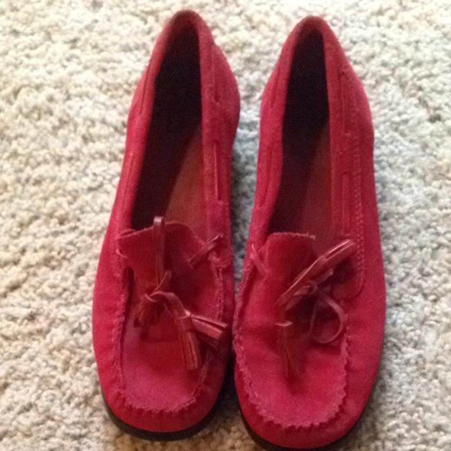 Item - Red Suede Flats Size US 7.5 Regular (M, B)