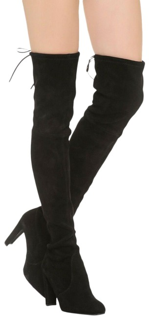 Item - Black Women's Highland Suede Over-the-knee 8.5n Boots/Booties Size US 8.5 Narrow (Aa, N)