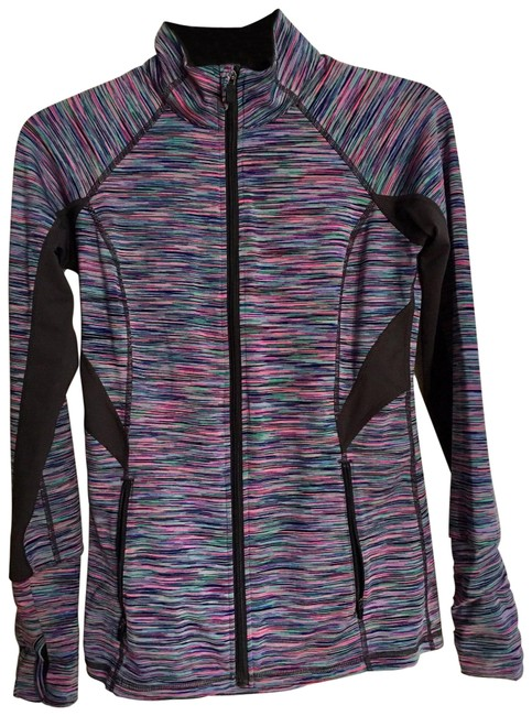 Item - Multi-color Zip Up Activewear Outerwear Size 0 (XS)
