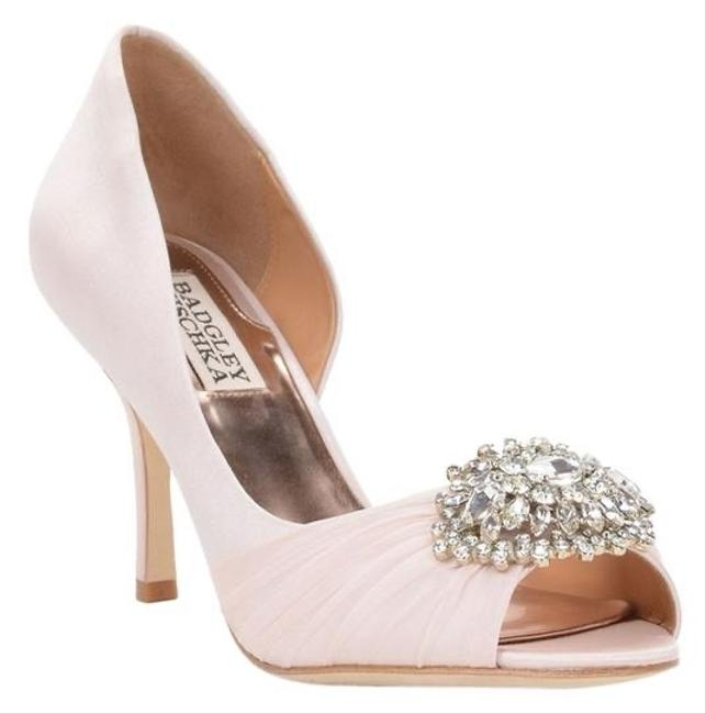 Item - Pink Pearson Embellished D'orsay Pumps Size EU 37.5 (Approx. US 7.5) Regular (M, B)