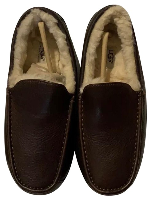 Item - Brown Moccasin Slippers Flats Size US 9 Regular (M, B)