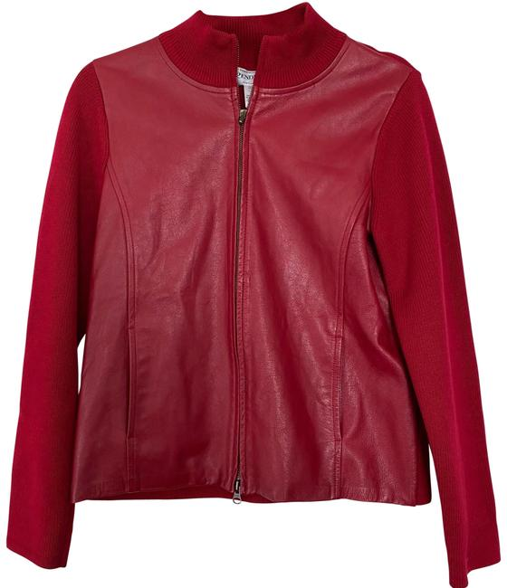 Item - Red Sweater Jacket Size 6 (S)