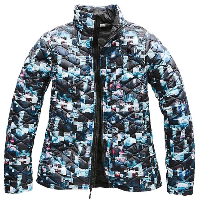 Item - Multi Glitch Women's Thermoball Full Zip Jacket Activewear Size 14 (L)