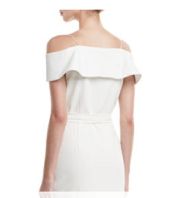 Alice + Olivia White Mid-length Formal Dress Size 0 (XS) Alice + Olivia White Mid-length Formal Dress Size 0 (XS) Image 1